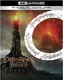 The Lord of the Rings: Motion Picture Trilogy (Extended & Theatrical)(4K Ultra HD + Digital)