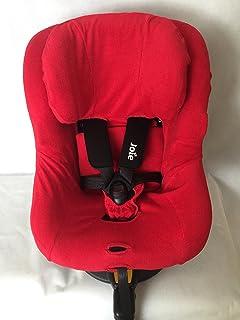 Sommerbezug Schonbezug für Joie Spin 360 Frottee 100% Baumwolle rot