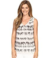 NIC+ZOE - Elephant March Tank Top