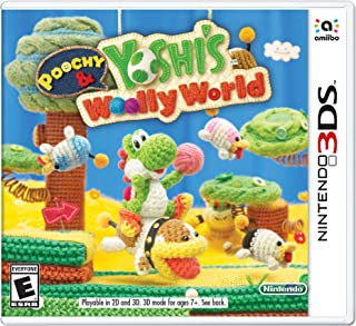Nintendo CTRPAJNE Poochy and Yoshi's Woolly World, 3DS
