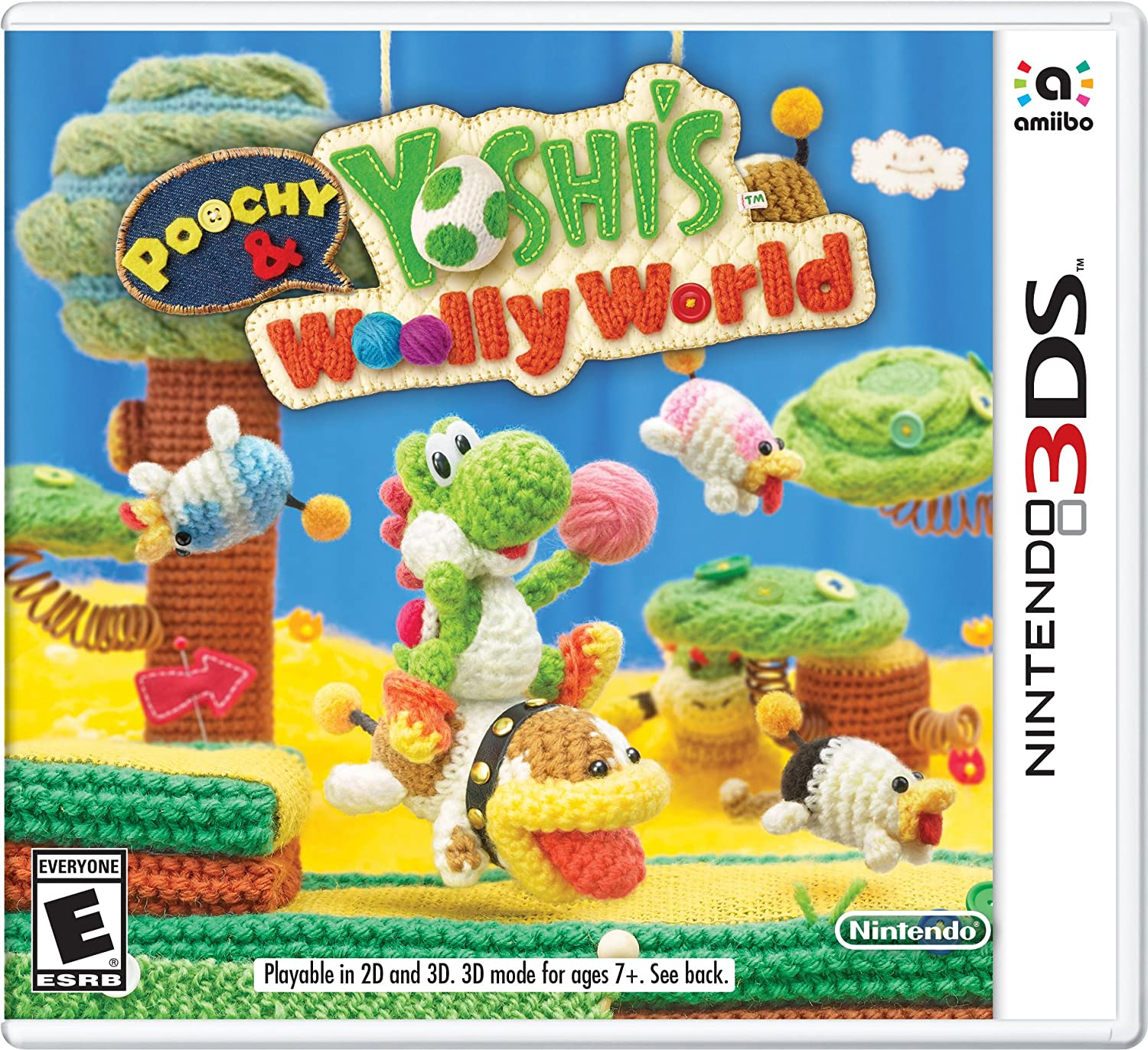 Poochy Yoshi's Woolly 40% OFF Cheap Finally resale start Sale World 3DS Code Digital -