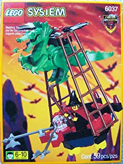 Lego System 6037 Witch's Windship Fright Knights by