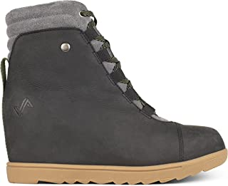 Forsake Alma – Women's Leather Wedge Water-Resistant Boot
