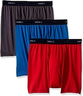 Men's 3-Pack X-Temp Performance Cool Short Leg Boxer Brief