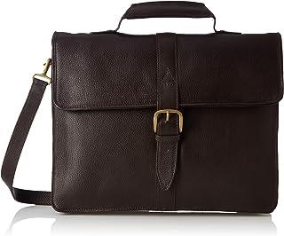 Hidesign Leather 39 cms Brown Messenger Bag (EE Bennett 1)