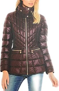 Bernardo Primaloft Thermoplume Packable Jacket Dark Cherry