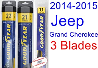 Best 2015 jeep grand cherokee wiper blade replacement Reviews