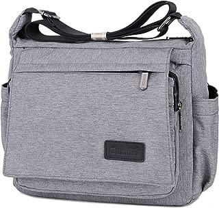 Scioltoo Waterproof Messenger Bag Unisex Casual Light Messenger Bag Shoulder Bag