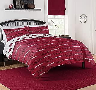 Northwest NCAA Arkansas Razorbacks Queen Bed in Bag Set #600894054
