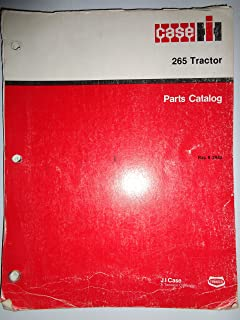 Case IH 265 Tractor Parts Catalog Book Manual 12/87 original