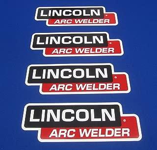4 Lot OEM Hood Decal Fits Lincoln Arc Welder Sa 200 250 Sae 300 400 Pipeline
