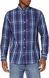 Jack & Jones Jjbyron Shirt LS Camisa para Hombre