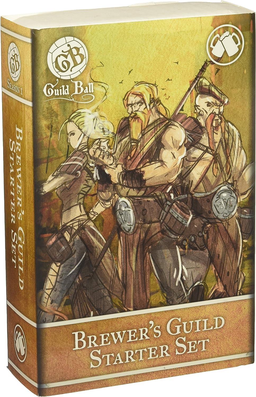 Steamforged Spiele Guild Ball Brewer Starter Set