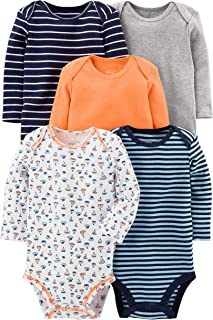 Simple Joys by Carter's Baby Boys' 5-Pack Long-Sleeve...