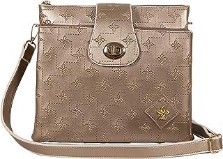 ESTABLISHED SEVENTY9 Umhängetasche Damen Crossbody | Handtasche elegant zum Umhängen | Kleine Damen-Handtasche vegan mit v...