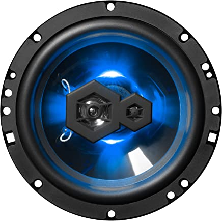 $29 Get Boss Audio Systems Audio Systems Elite B65LED 6.5 Inch Car Speakers - 300 Watts of Power Per Pair, 150 Watts Each, 3 Way, Sold In Pairs, Easy Mounting