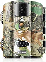 Vizzlema 12MP Trail Camera,Wildlife Hunting Camer No Glow Infrared Night Version with 2.4in LCD Screen Waterproof IP65