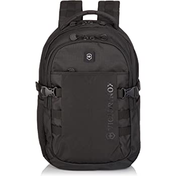 Victorinox VX Sport Cadet Laptop Backpack, Black/Black, 19-Inch