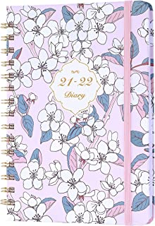Amazon Brand - Eono Diary 2021-2022 A5, July 2021 to June 2022, Weekly Planner with Monthly Tabs, Lovely Hardcover, Expand...