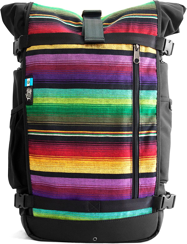 Ethnotek Premium HandCrafted Ballistic Nylon Raja Hiking Daypack Bag
