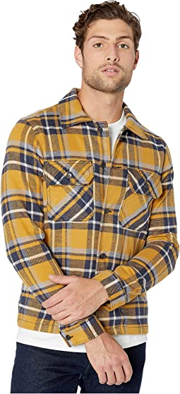 Heavyweight Vintage Flannel - Blue/Yellow