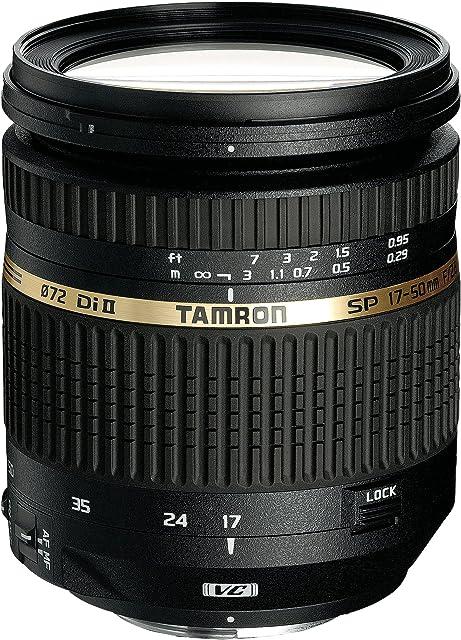 Tamron B005NII AF 17-50 mm F/2.8 XR Di II VC LD ASL (IF) - Objetivo para Nikon (Distancia Focal 17-50mm Apertura f/2.8 estabilizador óptico Macro diámetro: 72mm) Negro