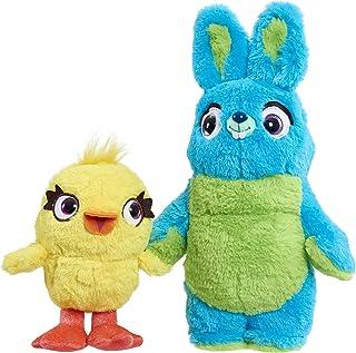 Disney-Pixar's Toy Story 4 Talking Ducky & Bunny Plush