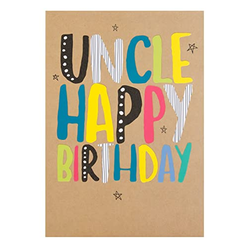 Hallmark Uncle Card Fantastic Birthday