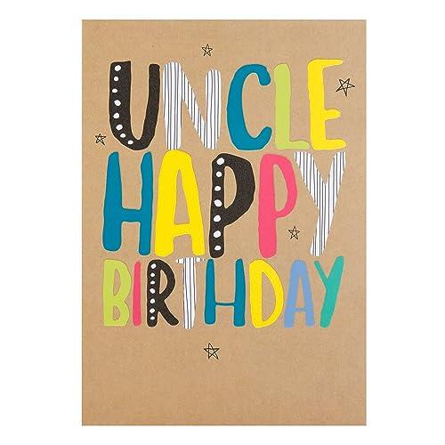 Hallmark Uncle Card Fantastic Birthday