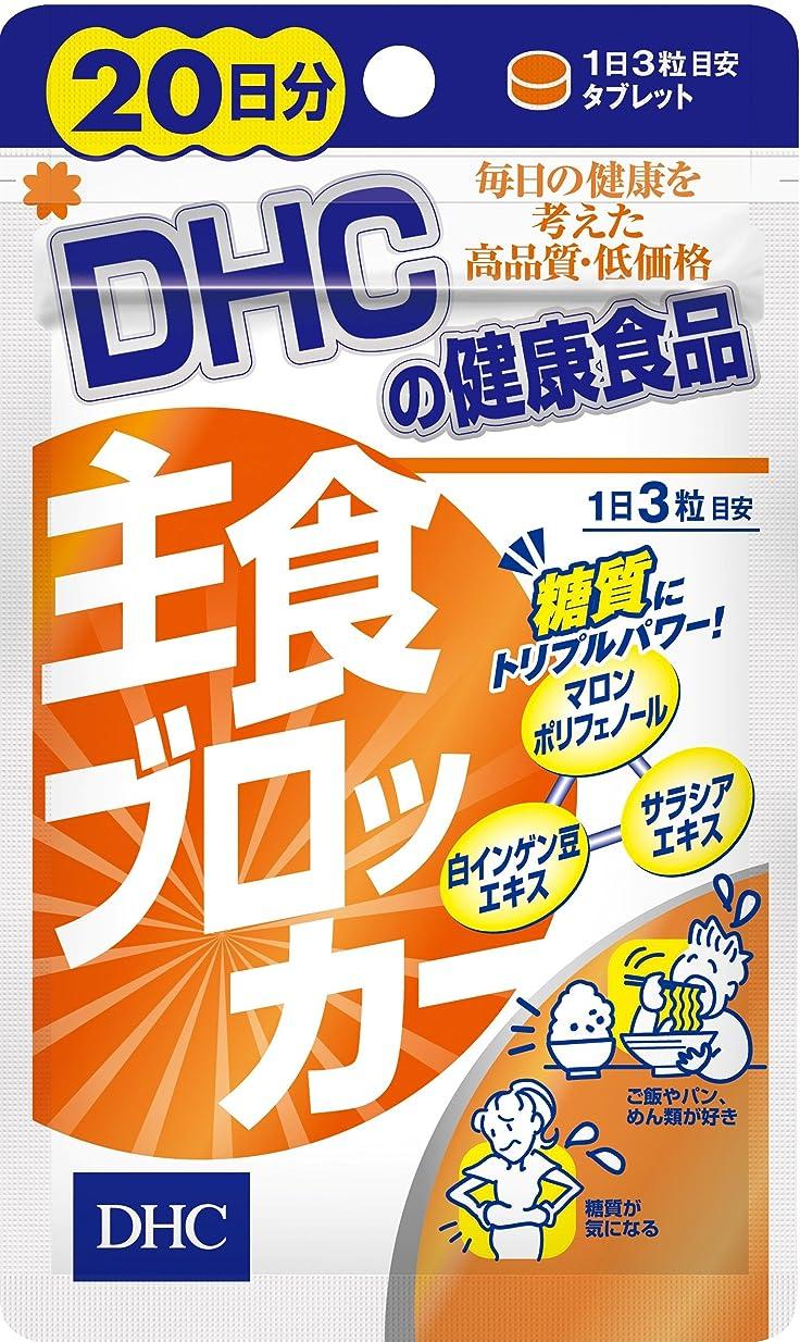 空気前兆途方もないDHC 主食ブロッカー 20日分 60粒