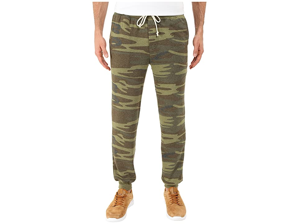 Alternative Dodgeball Eco Fleece Pants (Camo) Men