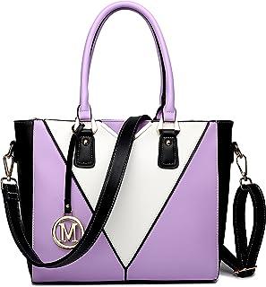 Miss Lulu Pu Ledertasche Damen Schultertasche Handtasche…