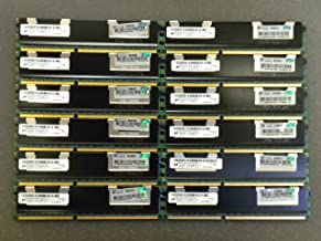 64GB (16x4GB) HP MEMORY 500203-061 FOR PROLIANT SERVER BL280,BL460,DL160,ML150