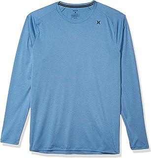 Hurley Men's Quick Dry Long-Sleeve T-Shirt Rash-Guard