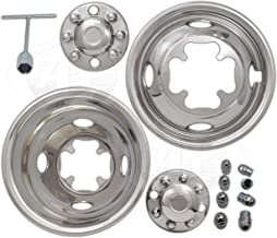 """A+ 16""""Stainless Steel Wheel Simulator Dually rim liner skin for GMC 3500 01~07"""