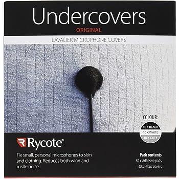 Rycote 065103 Bajo cubierta Blanco 30 unidades