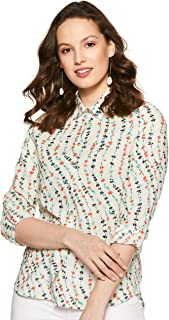 Marks & Spencer Women's Floral Regular fit Shirt