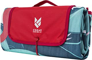 CGear Sandlite, Patented Sand-Free Beach Mat that's durable, water-resistant and great for family picnics, camping, and all outdoor adventures.