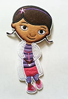 Iron on Sew on Patch: Doc Mcstuffins