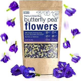 Sponsored Ad - La Terra Premium Dried Blue Butterfly Pea Flower Tea (3.5 OZ - 100 Gram) Non-GMO, 100% Raw with No Fillers ...