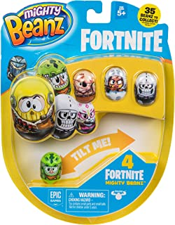 MIGHTY BEANZ, Fortnite 4 Pack (Styles May Vary) Toy, Multicolor, 1""
