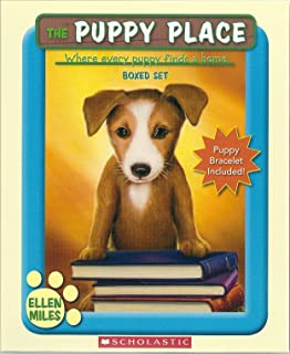 The Puppy Place Boxed Set, Books 1-5: Goldie, Snowball, Shadow, Rascal, and Buddy (Puppy Bracelet Included!)