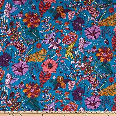 Cotton Fabric Fat Quarter quilting Windham Fabrics Fantasy retro ditsy flower