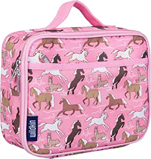Wildkin Kids Insulated Lunch Box for Boys and Girls, Perfect Size for Packing Hot or Cold Snacks for School and Travel, Patterns Coordinate with Our Backpacks and Duffel Bags