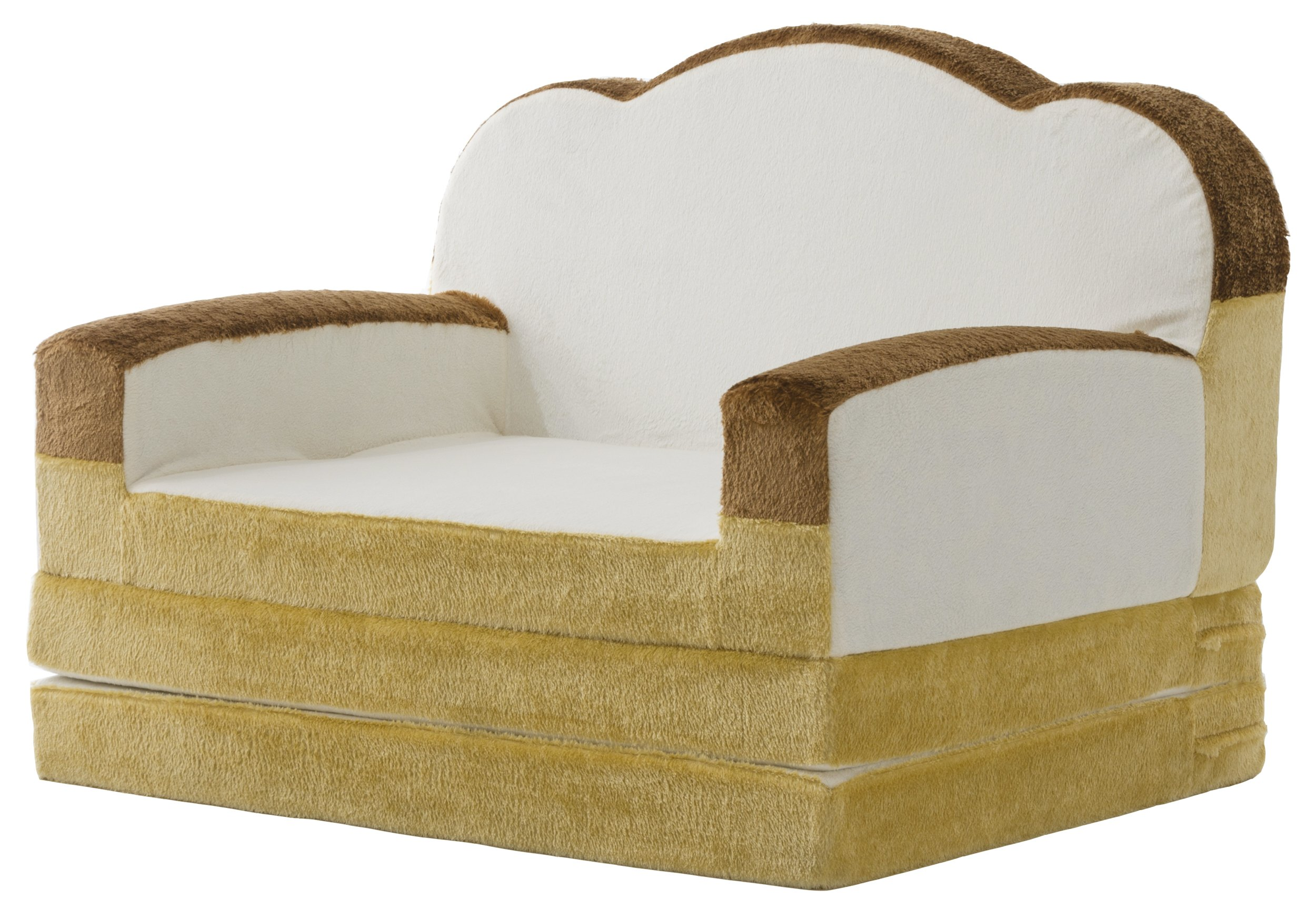セルタン 日本製 低反発 食パン ソファーベッド 折畳マット 一人掛け 日本製 A399a-359WH/515BE/516BR
