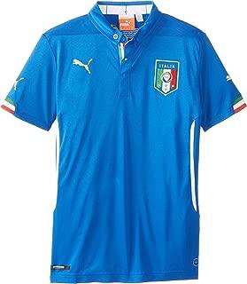 Blue PUMA FIGC Italy Home Shirt Replica SS