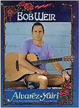 Alvarez Yairi Guitars - Bob Weir of The Grateful Dead - 1990 Print Advertisement