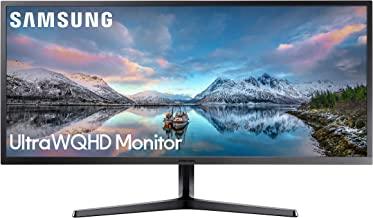 Samsung 34-Inch SJ55W Ultrawide Gaming Monitor (LS34J550WQNXZA) – 75Hz Refresh, WQHD Computer Monitor, 3440 x 1440p Resolu...