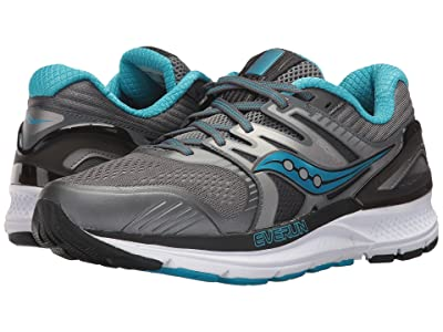 Saucony Redeemer ISO 2 (Grey/Black/Blue) Women