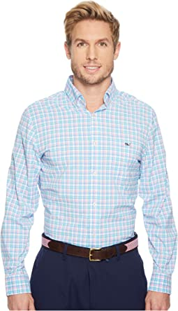 Vineyard Vines - Tiki Bar Performance Classic Tucker Shirt
